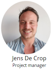 Jens De Crop - project manager
